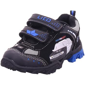 Schuhe Jungen Sneaker Low Lico Chief V 0 300032°schwarz/royal/silb