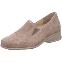 Schuhe Damen Slipper Semler Slipper Ria R1315 042 028 beige