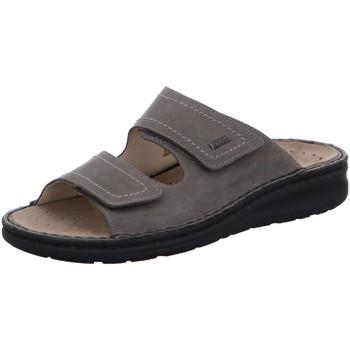 Schuhe Herren Sandalen / Sandaletten Fidelio Offene Pantolette GUIDO 365021-18 grau