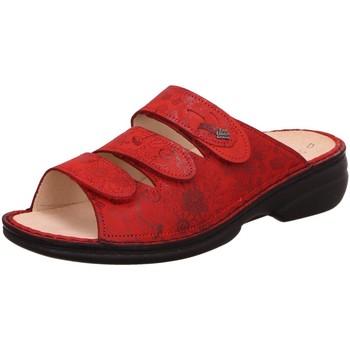 Schuhe Damen Hausschuhe Finn Comfort Pantoletten Kos 02254-902260 rot