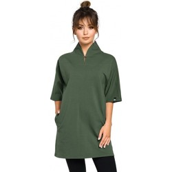 Kleidung Damen Tuniken Be B059 Rav Saum Tunika stricken - graphit