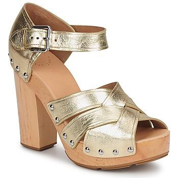 Schuhe Damen Sandalen / Sandaletten Marc by Marc Jacobs VENTA Goldfarben