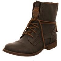 Schuhe Damen Stiefel Mustang Stiefeletten graphit 1157508-259 braun