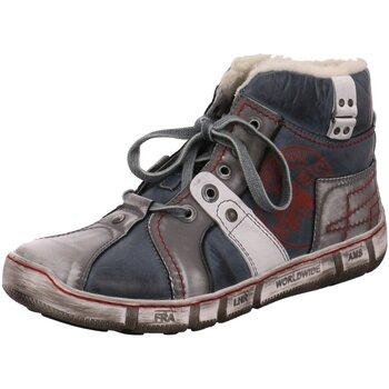 Schuhe Herren Stiefel Kacper 3-4720 blau