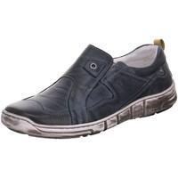 Schuhe Herren Slipper Kacper Slipper 1-6129 blau