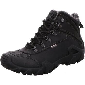 Schuhe Herren Stiefel Imac 604448 3470/018 schwarz