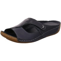 Schuhe Damen Pantoffel Andrea Conti Pantoletten 0773402 017 blau
