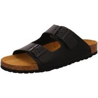 Schuhe Herren Pantoffel Bio Life Offene 0014 96401 ESPON 09 schwarz