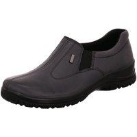 Schuhe Damen Slipper Alpina Slipper 4256-2 blau