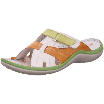 Schuhe Damen Pantoffel Krisbut Pantoletten 7003-1W bunt
