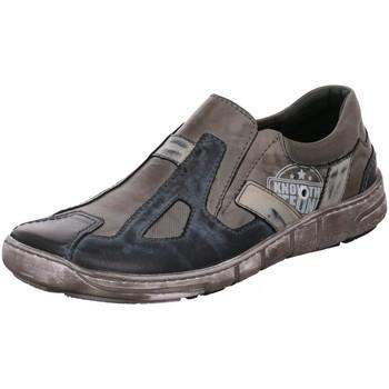Schuhe Herren Slipper Kacper Slipper 1-6104 grau