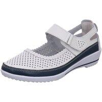 Schuhe Damen Slipper Scandi Slipper 220-0076-L1 weiß