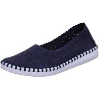 Schuhe Damen Slipper Scandi Slipper 221-0014-Z1 blau