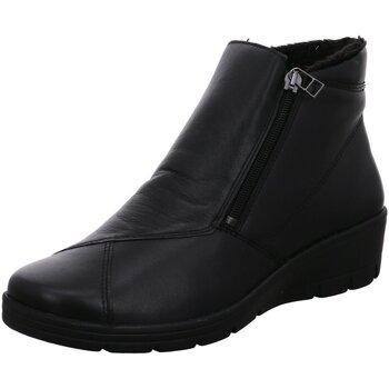 Schuhe Damen Stiefel Aco Stiefeletten 765/7884W schwarz