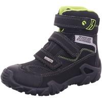 Schuhe Jungen Schneestiefel Imac Klettstiefel 432639 schwarz