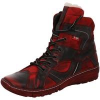 Schuhe Damen Schneestiefel Kacper Stiefeletten 4-5477 rot