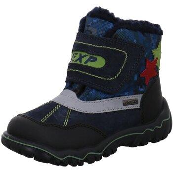 Schuhe Jungen Schneestiefel Imac Klettstiefel 434258 7030/002 blau