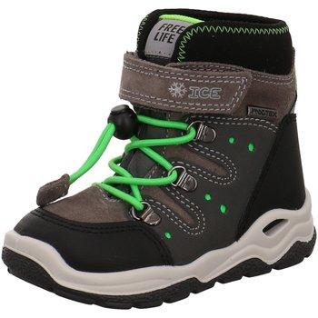 Schuhe Jungen Gummistiefel Imac Klettstiefel 434128 7087/002 braun