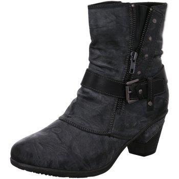 Schuhe Damen Low Boots Scandi Stiefeletten 260-0065-C1 grau