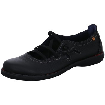 Schuhe Damen Slipper Diverse Slipper 5120 VELVET NEGRO+ROSSO schwarz