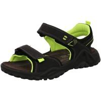 Schuhe Jungen Wanderschuhe Imac Trekkingsandalen 733060 3650/010 schwarz