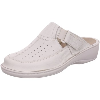 Schuhe Damen Pantoletten / Clogs Dr. Feet Pantoletten 2025 WHITE weiß