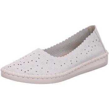 Schuhe Damen Slipper Scandi Slipper 221-0057-L1 weiß