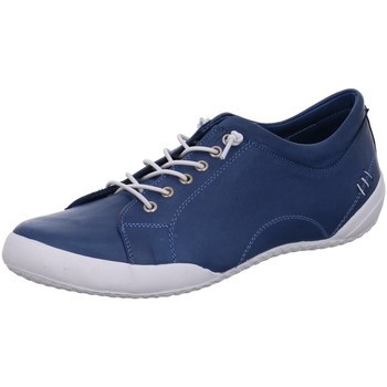 Schuhe Damen Sneaker Low Cosmos Comfort Schnuerschuhe 6157301-820 blau