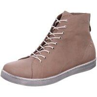Schuhe Damen Boots Andrea Conti Stiefeletten Da.- Schnürer 0341500-640 beige