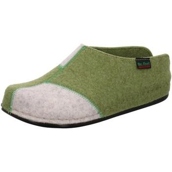 Schuhe Damen Hausschuhe Dr. Feet 107 01 089/952/903 grün