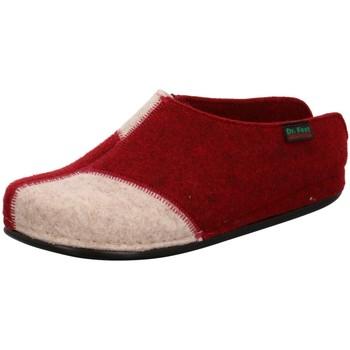 Schuhe Damen Hausschuhe Dr. Feet 107 01 192/952/903 rot