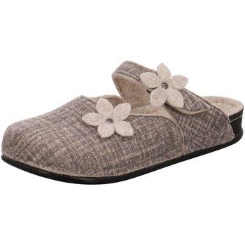 Schuhe Damen Hausschuhe Dr. Feet 105 03 418 grau