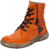 Schuhe Damen Boots Kacper Stiefeletten 4-0542 346+874+872 BSF orange