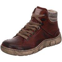 Schuhe Damen Boots Kacper Stiefeletten 4-0153 675+674 BSF rot