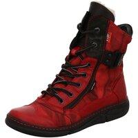Schuhe Damen Schneestiefel Kacper Stiefeletten 4-6469 729+746+163 BSF rot