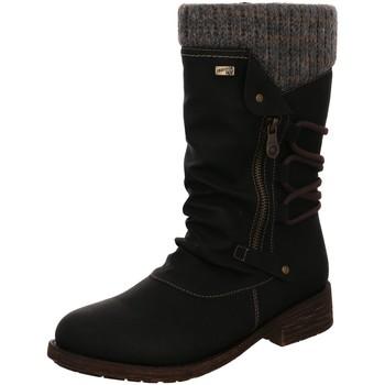 Schuhe Damen Schneestiefel Remonte Dorndorf Stiefel D8070-01 schwarz