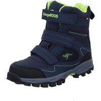 Schuhe Jungen Schneestiefel Kangaroos Klettstiefel 18668 4054 blau