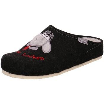 Schuhe Damen Hausschuhe Tofee 110/EUR3085 TE.901 LIB.555 schwarz