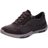 Schuhe Damen Sneaker Low Aco Schnuerschuhe 855/9172W 1039/1039 grau