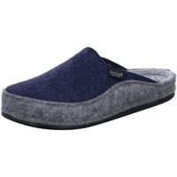 Schuhe Herren Hausschuhe Dr. Feet 603 01 905/903 blau