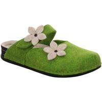Schuhe Damen Hausschuhe Dr. Feet 105 PET 028 grün