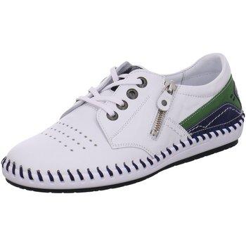 Schuhe Damen Derby-Schuhe & Richelieu Krisbut Schnuerschuhe 2466-1 weiß