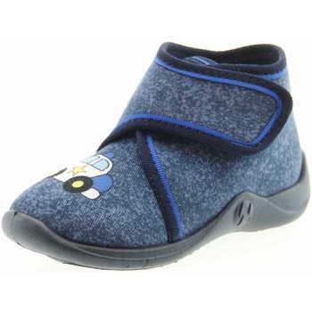 Schuhe Jungen Hausschuhe Rohde 1607 56 Jungen Hausschuh Blau Blau