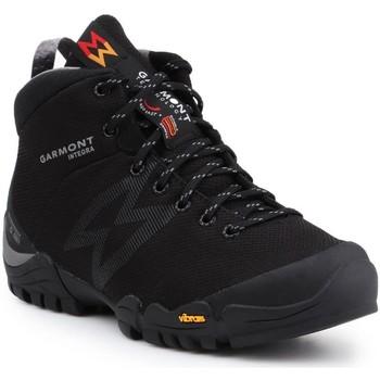 Schuhe Herren Wanderschuhe Garmont Trekkingschuhe  Integra Mid WP Thermal 481052-201 schwarz