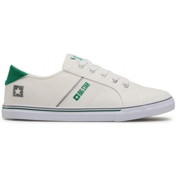 Schuhe Damen Sneaker Low Big Star DD274893 Weiß, Grün