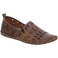 Schuhe Damen Slipper Gemini Slipper 031225 02-030 braun