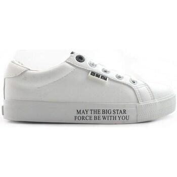 Schuhe Damen Sneaker Low Big Star EE274316 Weiß