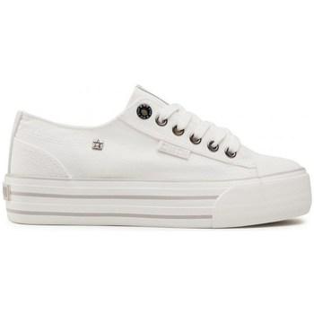 Schuhe Damen Sneaker Low Big Star HH274052 Weiß