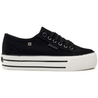 Schuhe Damen Sneaker Low Big Star HH274056 Weiß, Schwarz