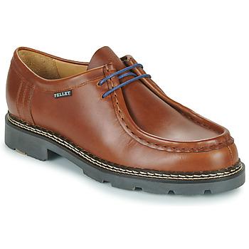 Schuhe Herren Derby-Schuhe Pellet Macho Braun